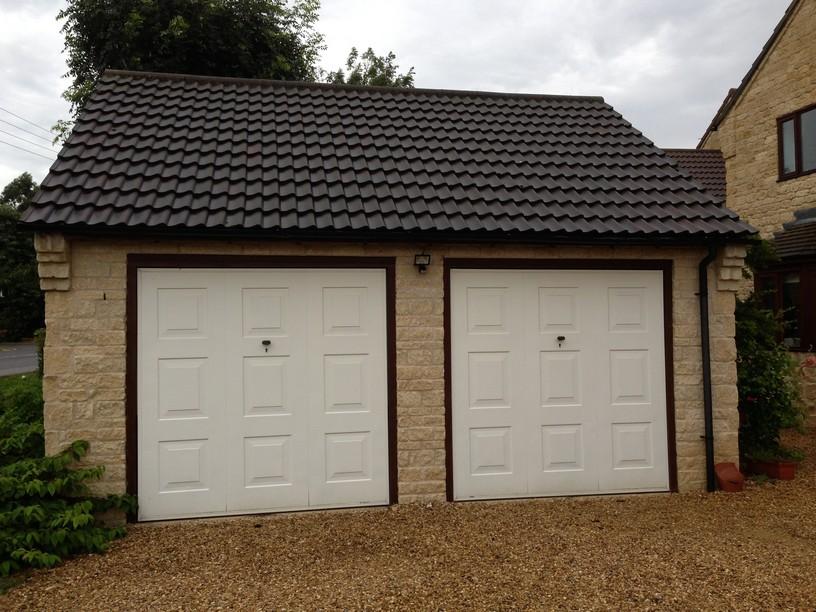 Double doors Thurlby Lincs LGDS