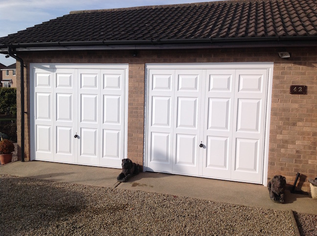 2 Hormann Georgian automated doors by LGDS Ltd