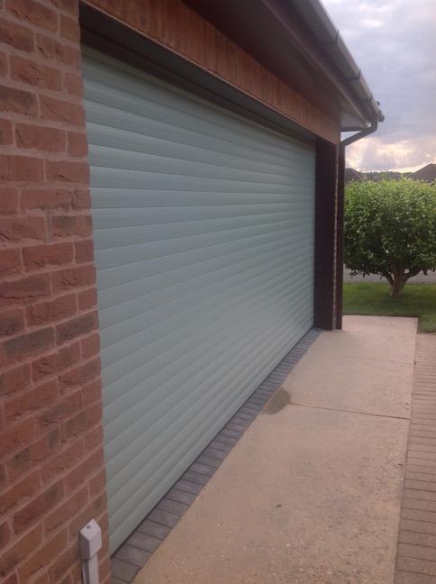 SWS roller shutter installed