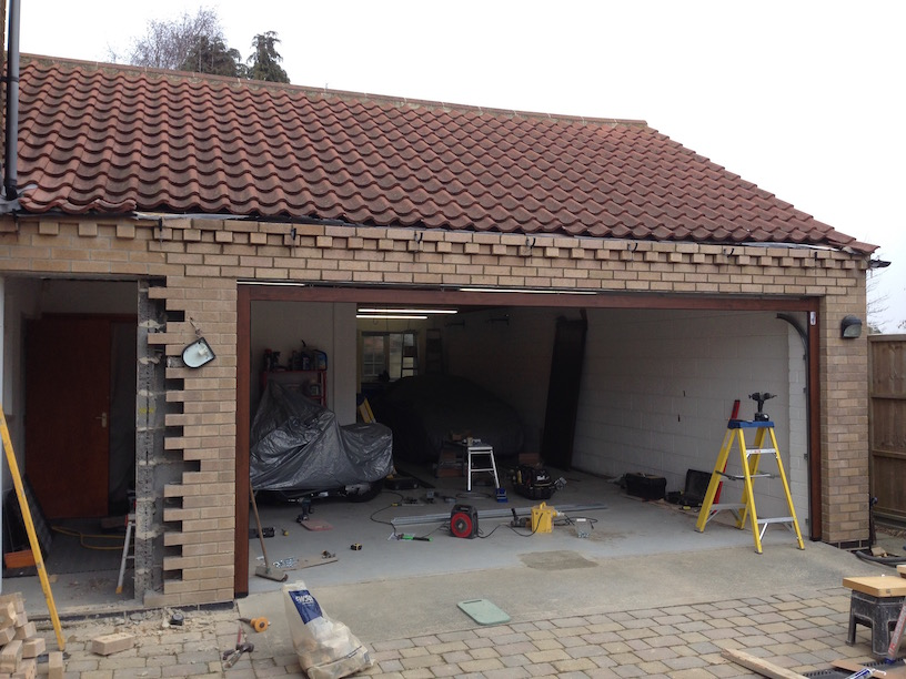 Brickwork all done