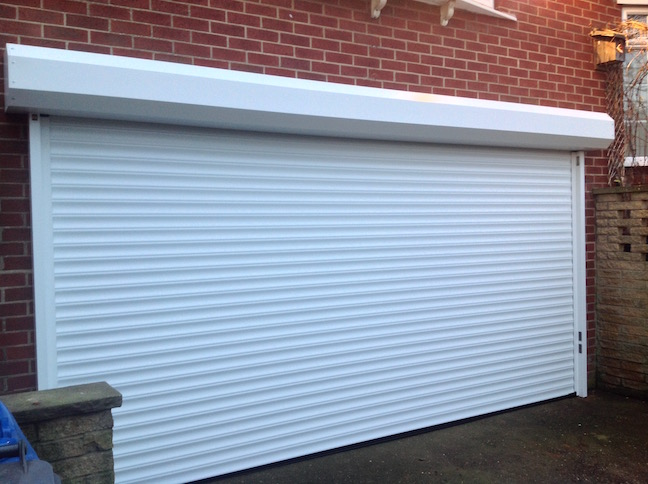 Hormann RollMatic door externally fitted by Lincs Garage Door Services Ltd