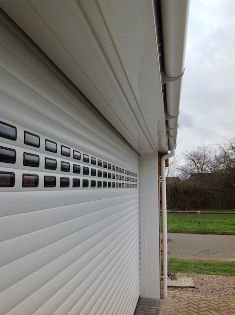 Hormann RollMatic door installed
