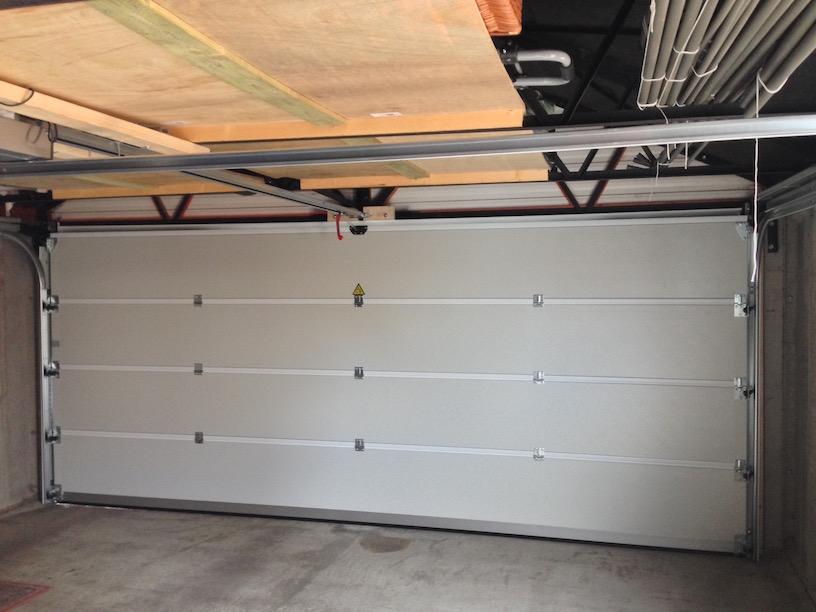 Inside Carteck sectional door by LGDS