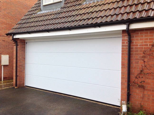 Hormann Sectional door installed