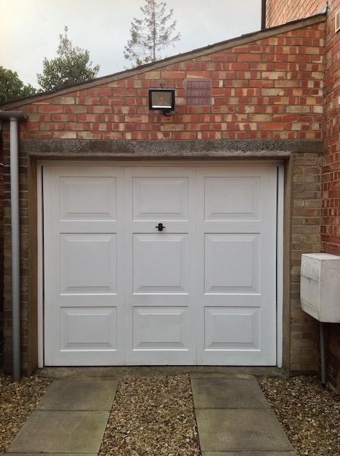 Old Henderson door before update