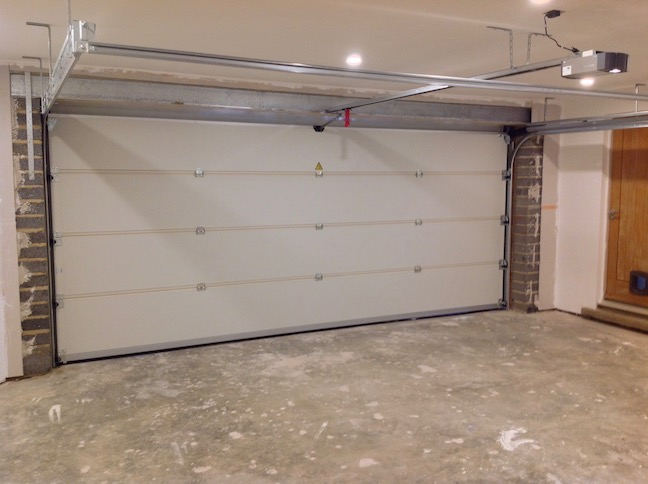 Carteck Sectional door inside view