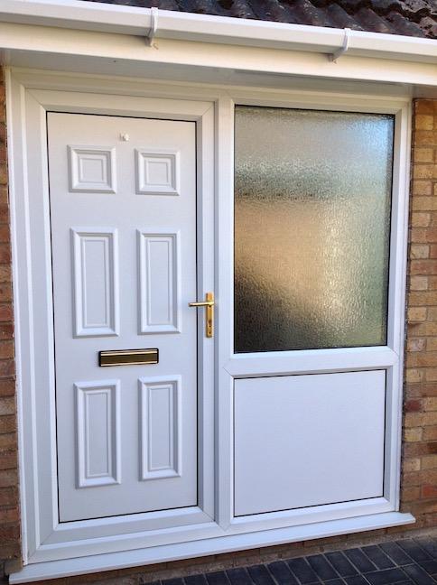Old front door before update