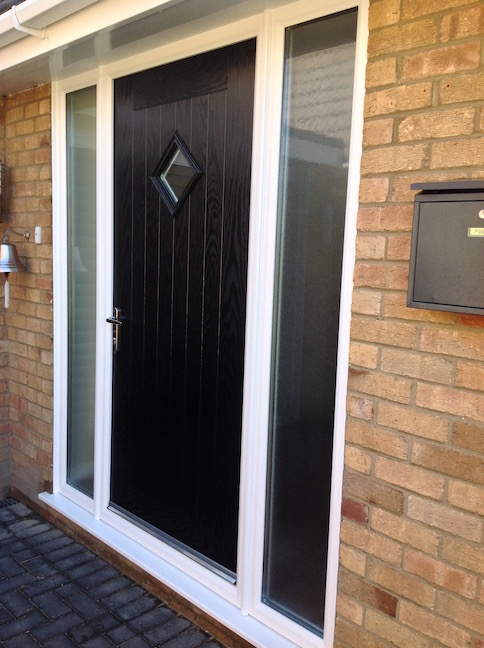 Hormann Thermo Composite door with Glazing elements