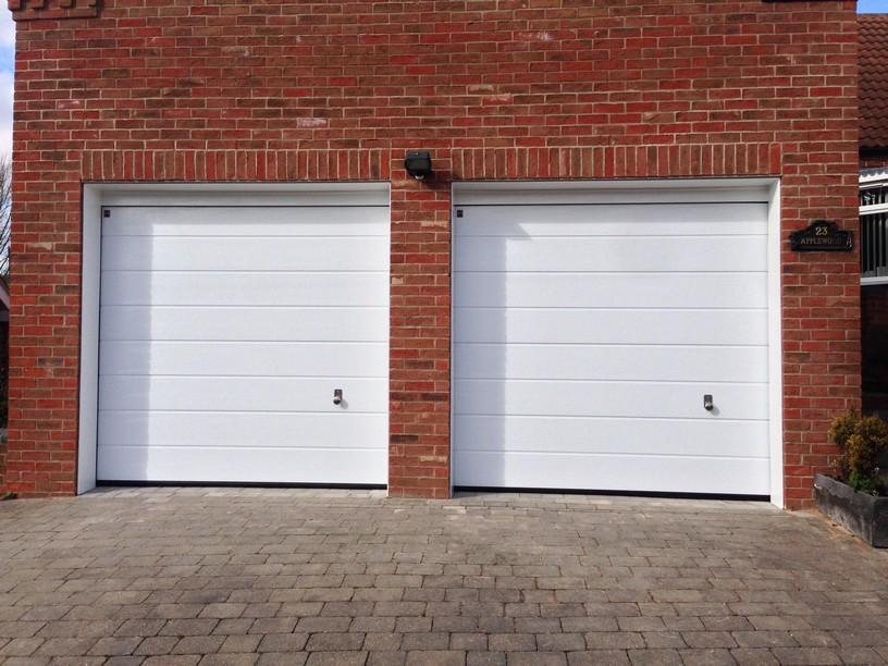 hormann sectional doors medium ribbed by LGDS Ltd