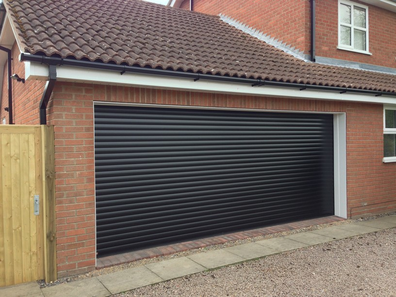 Hormann RollMatic door Conversion by LGDS Ltd