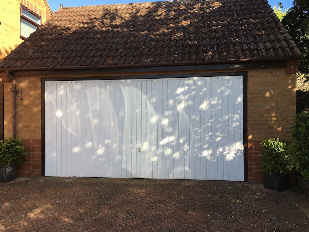 Old Henderson Garage door