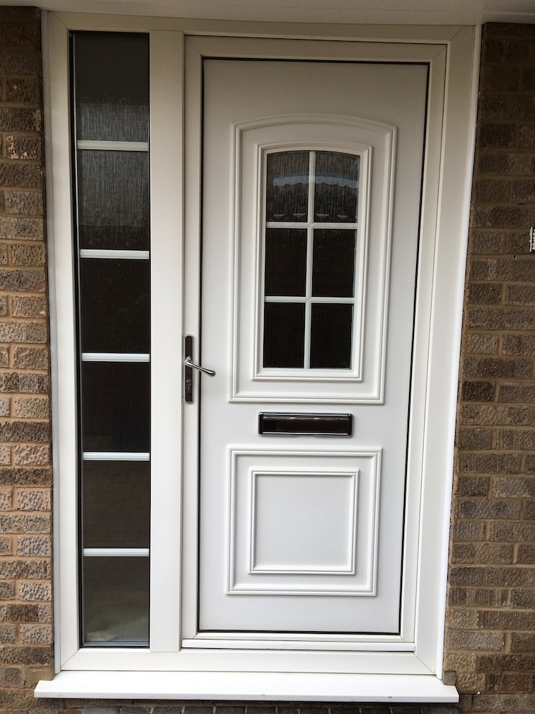 PVC Door & side element before