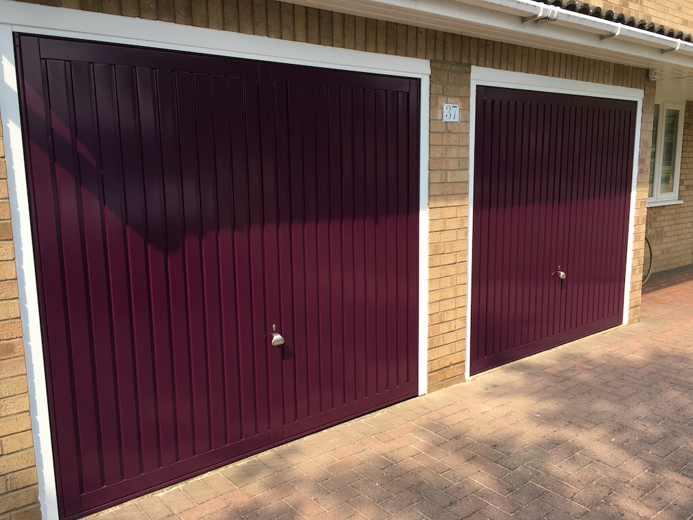 2 Garador Suttons in Bespoke Purple Violet