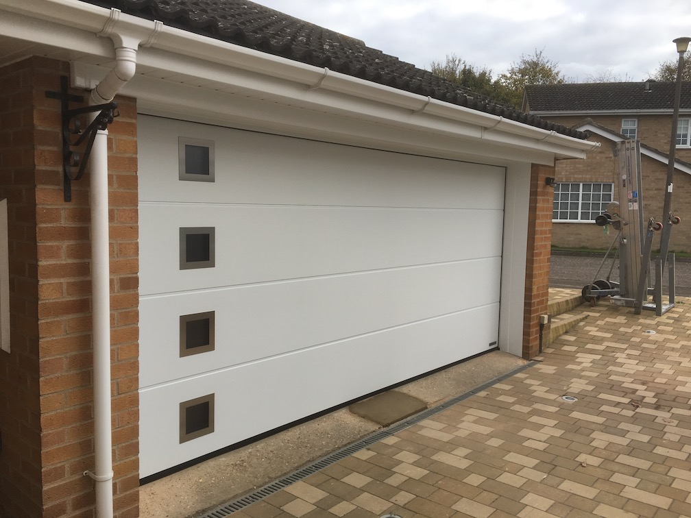 New Hörmann Sectional door installed