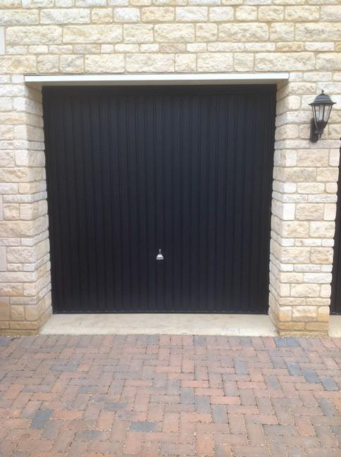 Garador canopy door
