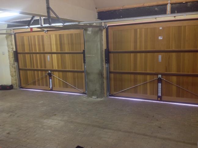 Horman Caxton doors inside view