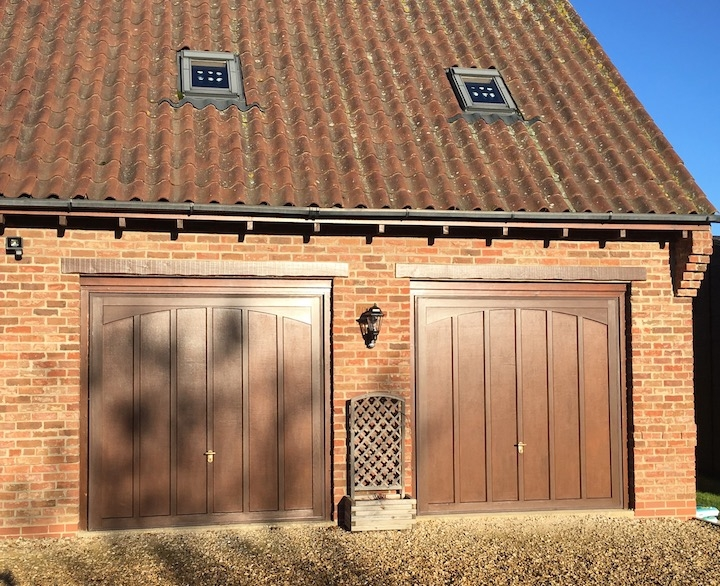 2 old timber doors before update