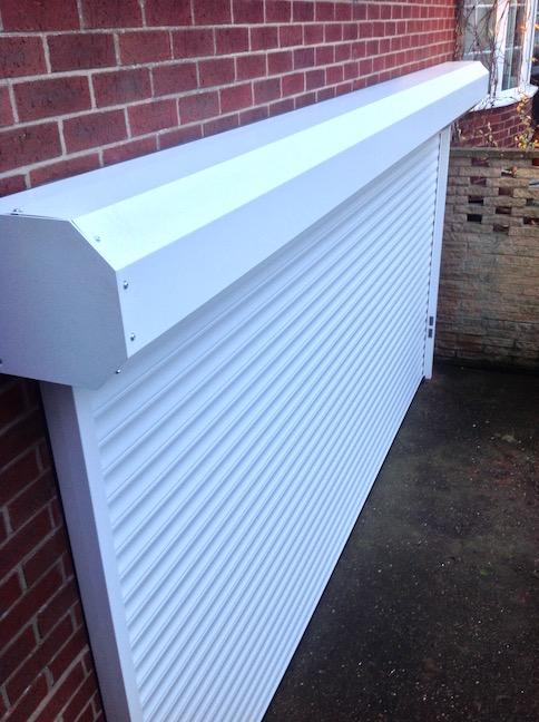 Hormann RollMatic door externally fitted by Lincs Garage Door Services Ltd