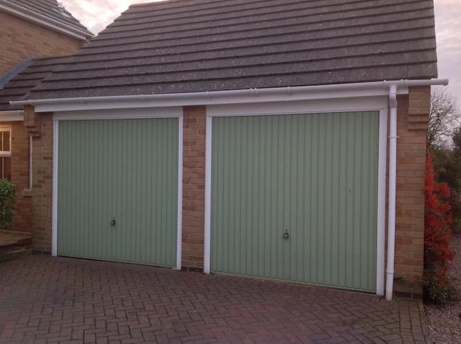 2 garage doors before LGDS conversion