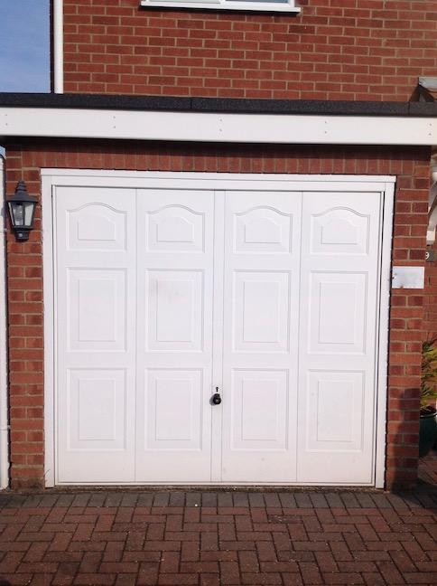 Old Hormann Door