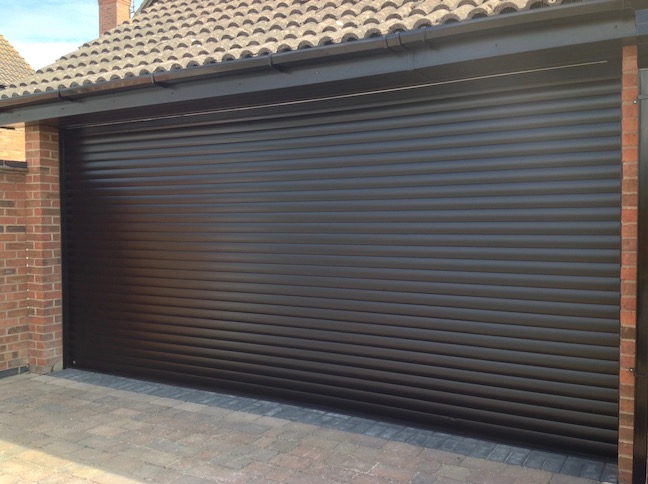 Hormann RollMatic door installed
