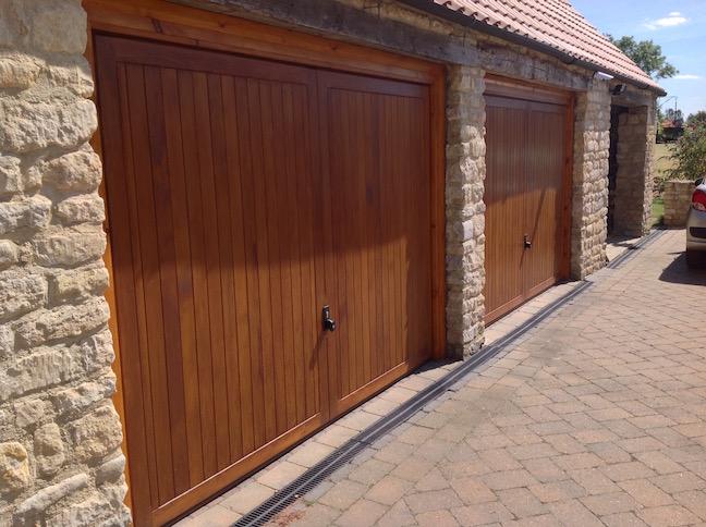 2 x Hormann Caxton Doors