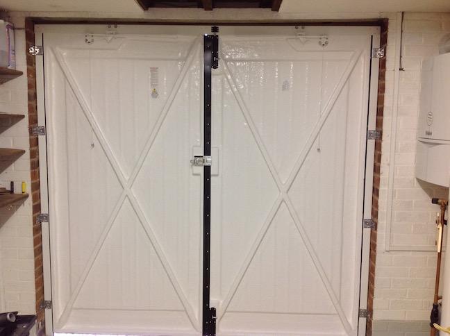 Wessex Side Hinge Doors internal view