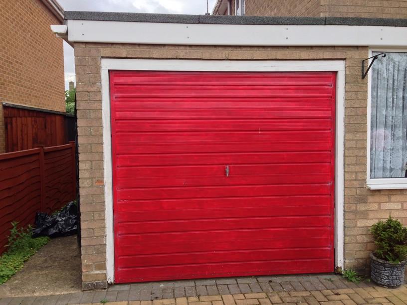 Old Henderson door Before