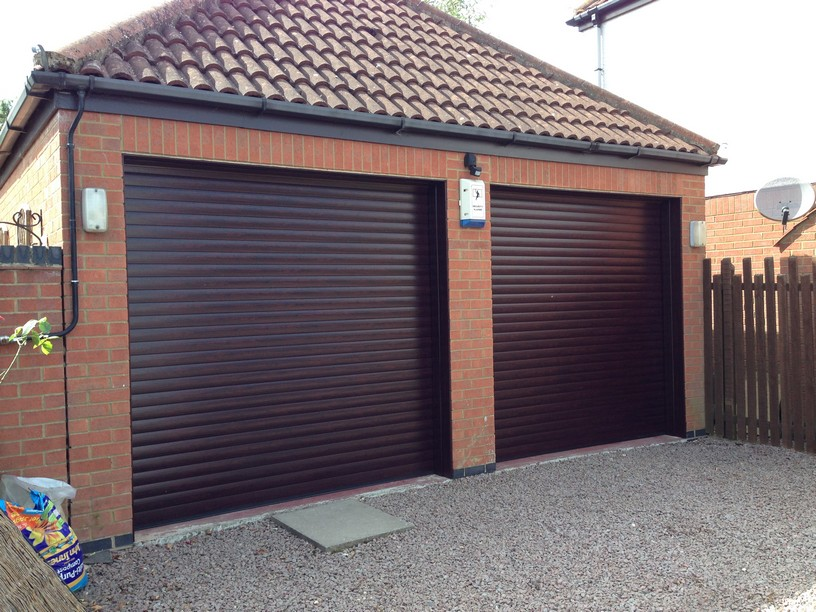 SWS Excel Roller shutters by LGDS LTD in Roswood