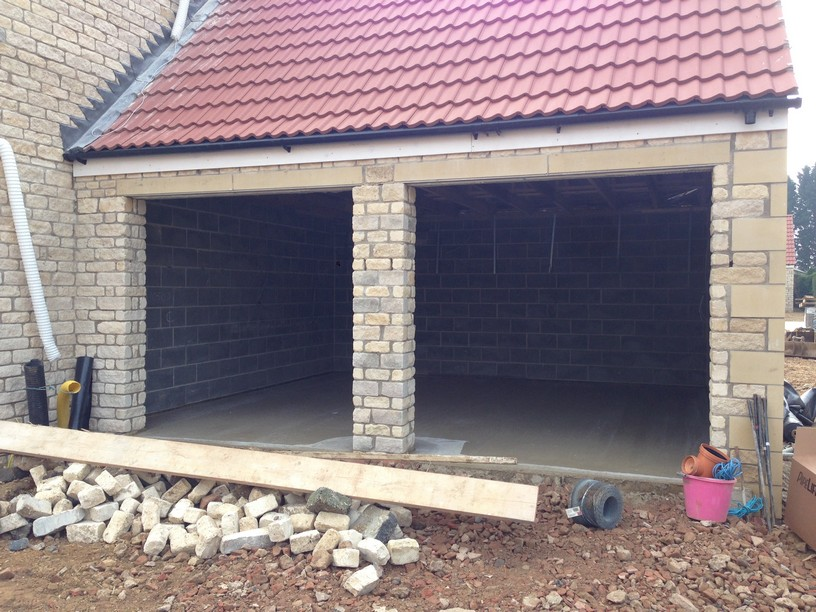 New Build project before lgds install