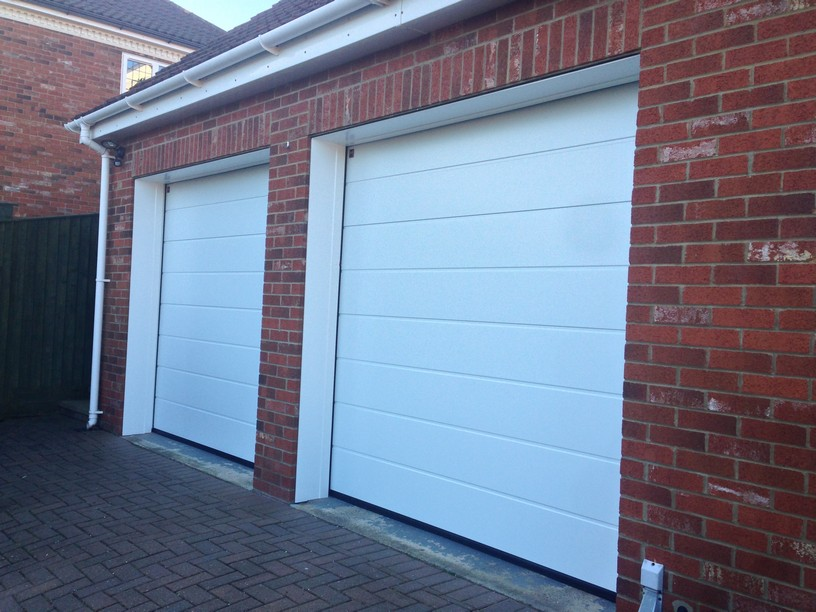 hormann sectional doors medium ribbed by LGDS Ltd