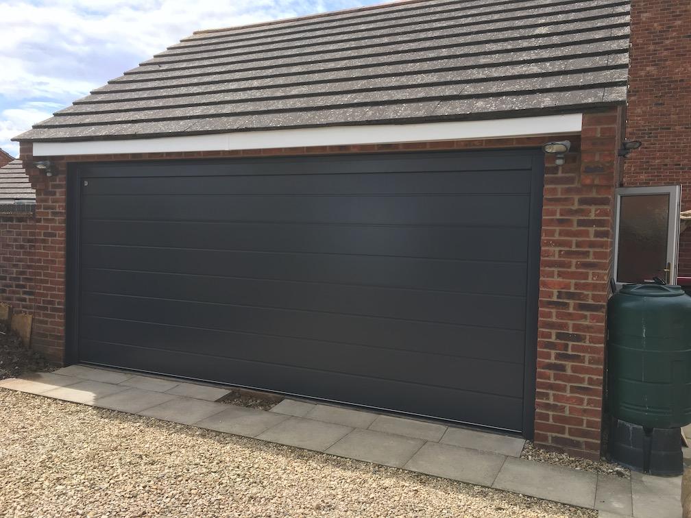 New Carteck sectional door installed