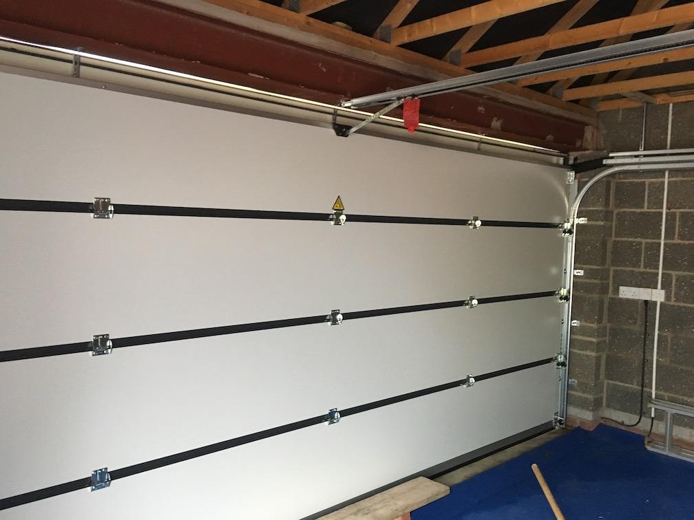 Carteck sectional door inside view