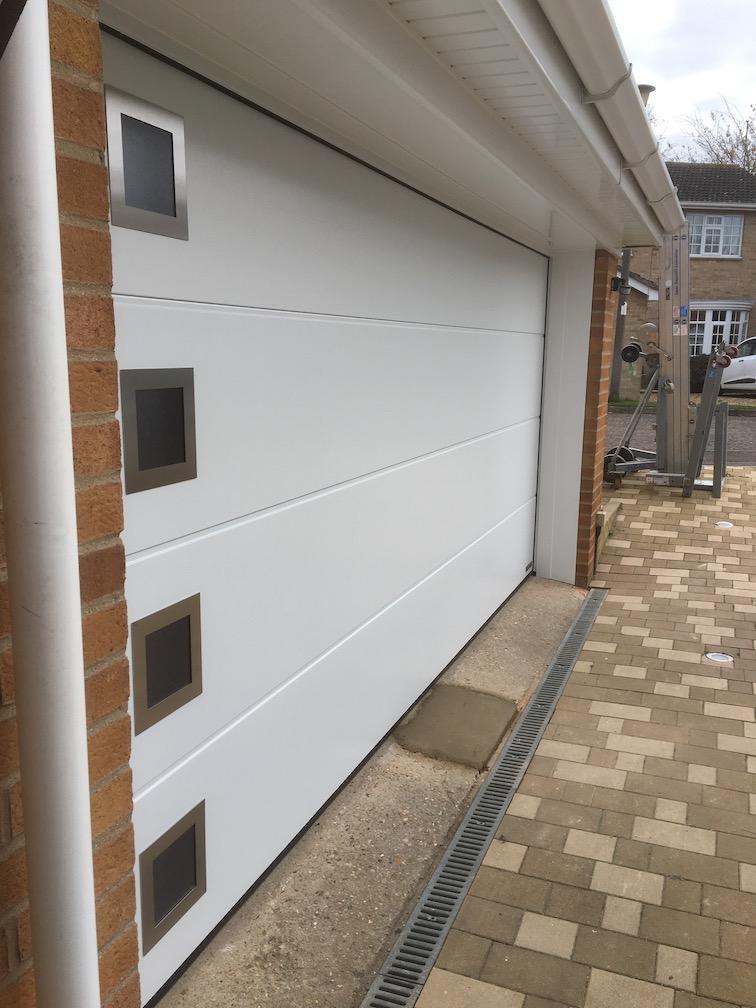 New Hörmann Sectional door installed