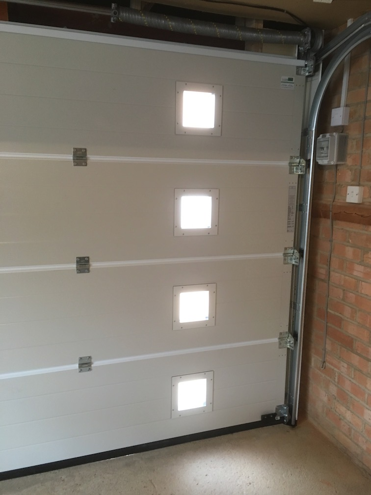 Internal view of glazing