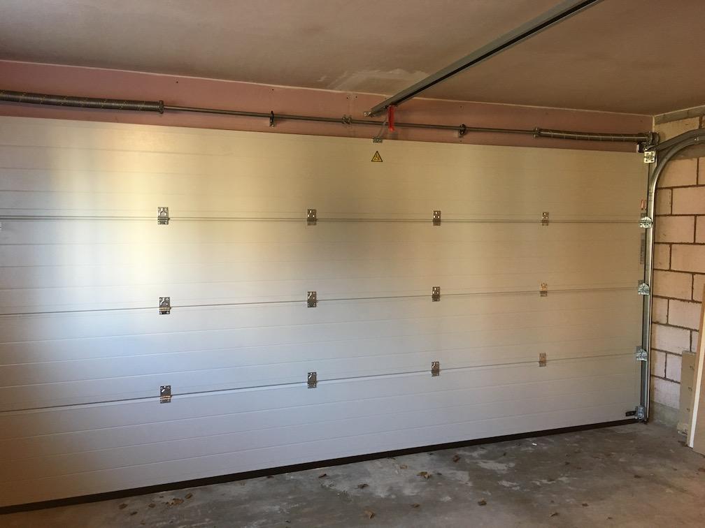 New Hörmann LPU 67 Sectional door inside view
