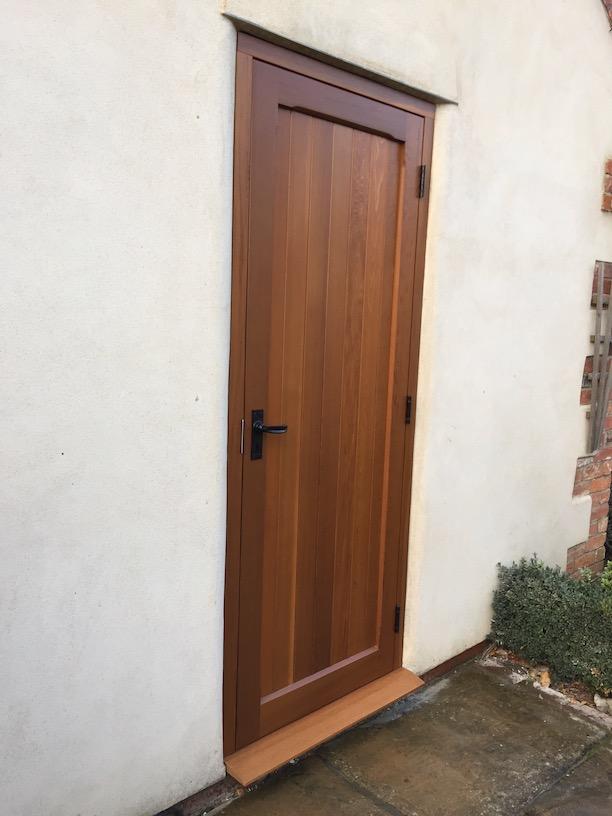 Woodrite York range side entrance door in Chalfont design