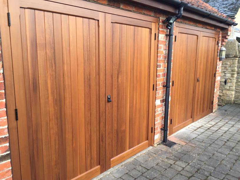 Woodrite, York range, Chalfont design side hinged doors