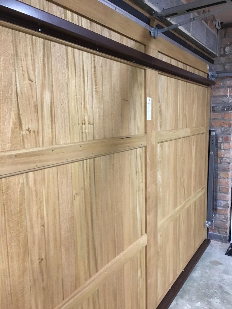 an internal view of Woodrite Idigbo solid doors