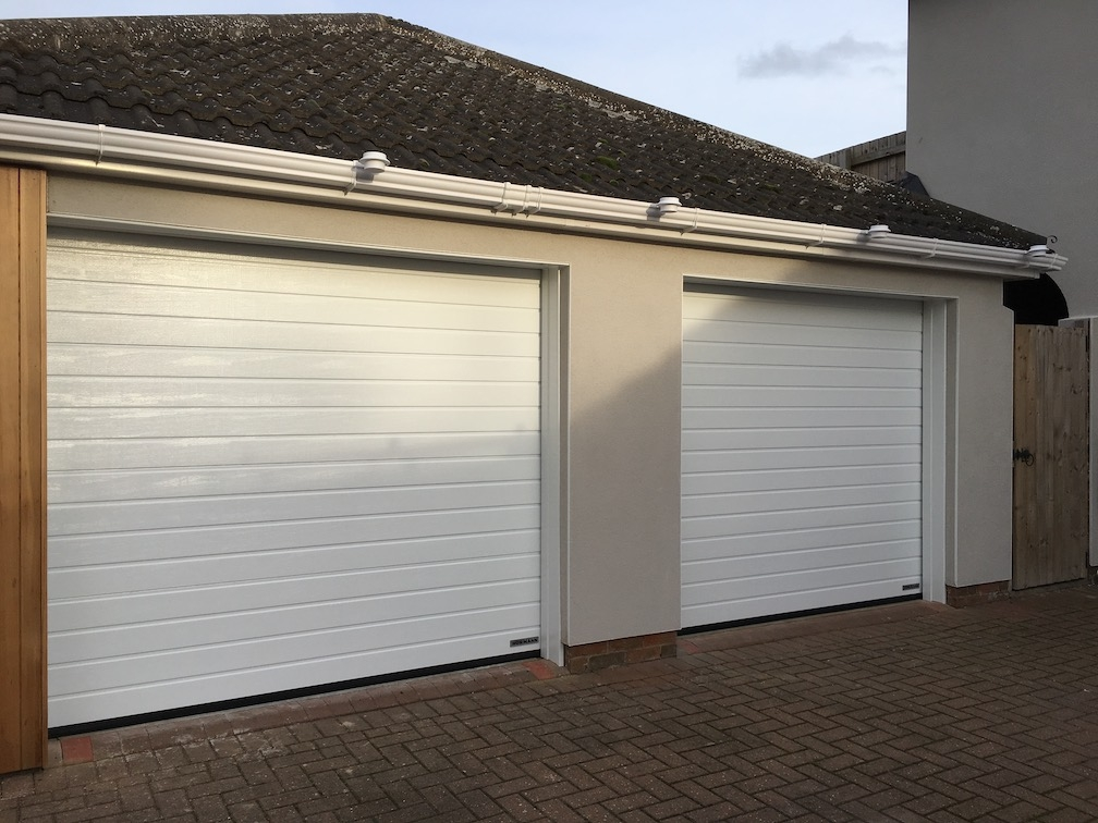 2 Hörmann Sectional doors S-ribbed design